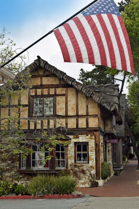 Fairytale Christmas In Carmel California Fairy Houses Of