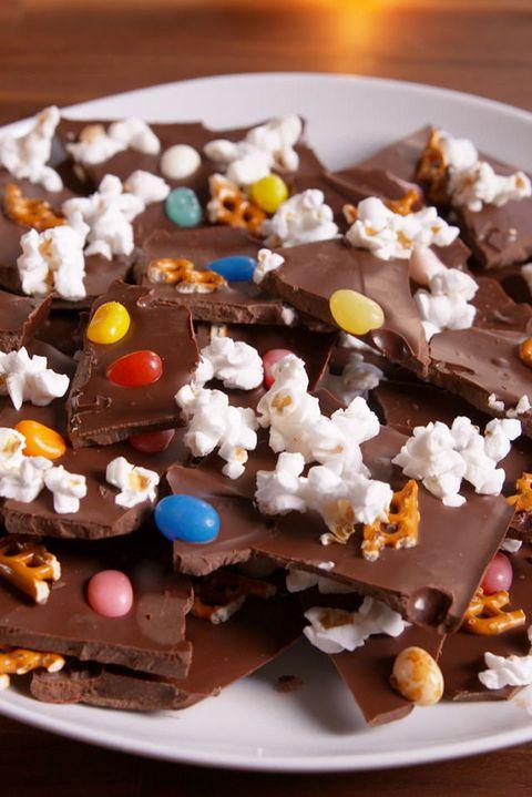 Charlie Brown Thanksgiving-Inspired Chocolate Bark Recipe