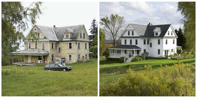 Renovating An Old House Before And After Pictures Of Home