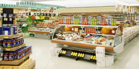 Retail, Convenience store, Food, Supermarket, Grocery store, Trade, Shelving, Food storage, Marketplace, Aisle,