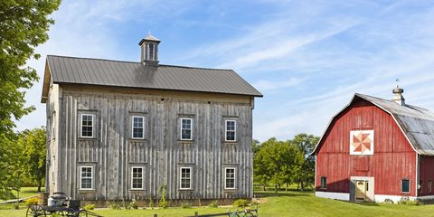 Window, House, Property, Home, Real estate, Roof, Land lot, Building, Rural area, Cottage,