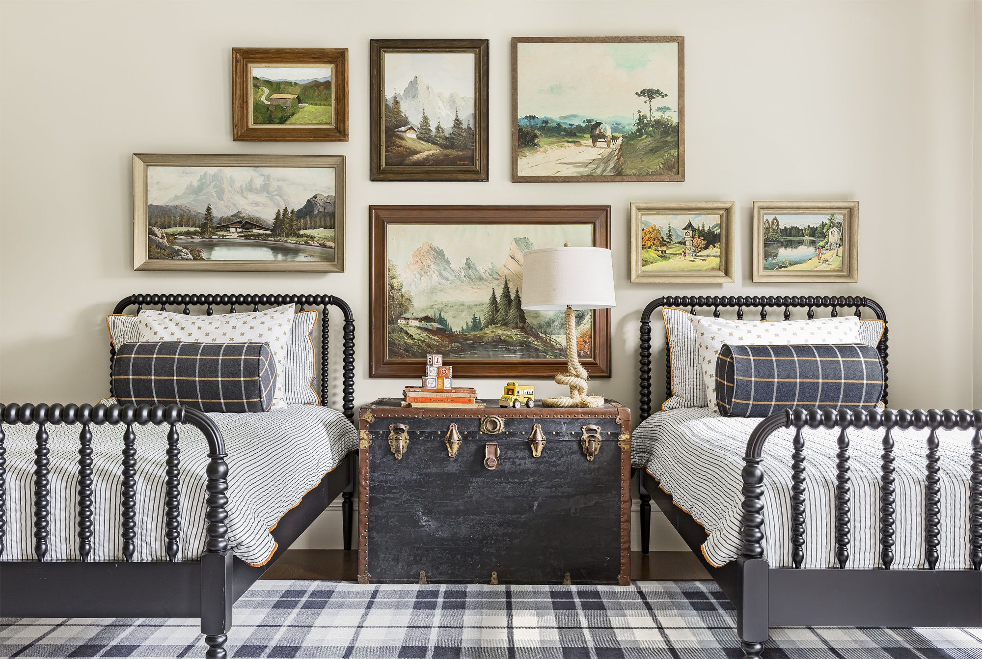 delightful Country Bedrooms Ideas Part - 14: Country Living Magazine