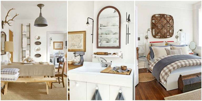 You Would Never Guess That This Airy And Rustic Home Is A Teeny City Apartment