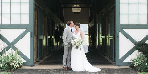 Clothing, Dress, Trousers, Bridal clothing, Coat, Photograph, Outerwear, Bride, Wedding dress, Suit,