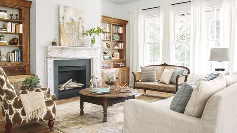 Cozy Living Room Furniture And Decor Ideas, Modern Country Decorating Ideas For Living Rooms