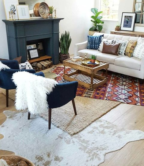 Layering Rugs Home D 233 Cor Trend How To Layer Rugs