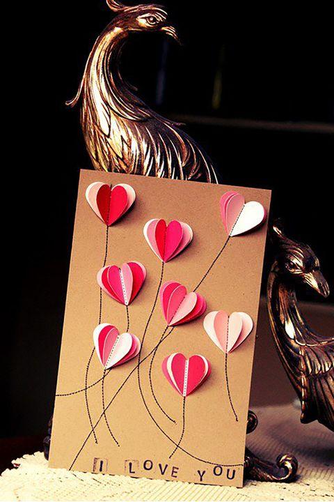 38 Diy Valentine S Day Cards Easy Valentine S Day Card Ideas