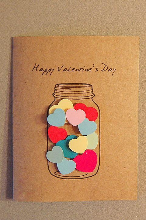 40 Easy DIY Valentine's Day Cards - Homemade Valentine's ...