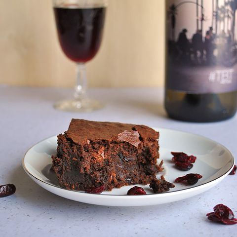 """<p>Red wine&nbsp;brownies with a wine-soaked cranberry kick on top kind of sounds like heaven, doesn't it?</p><p><strong data-verified=""""redactor"""" data-redactor-tag=""""strong"""">Get the recipe at <a href=""""http://cookienameddesire.com/red-wine-brownies-drunken-cranberries/"""" target=""""_blank"""" data-tracking-id=""""recirc-text-link"""">A Cookie Named Desire</a>.</strong><br></p>"""