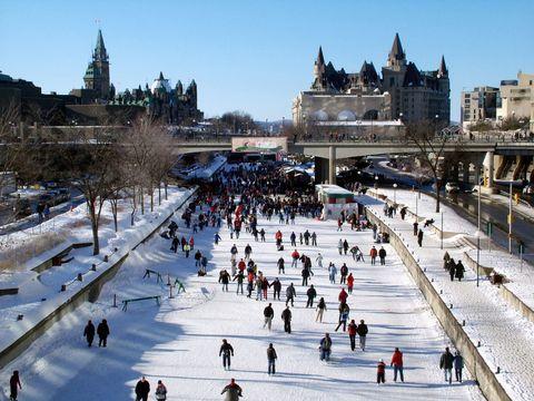 Ottawa's Rideau Canal Skateway