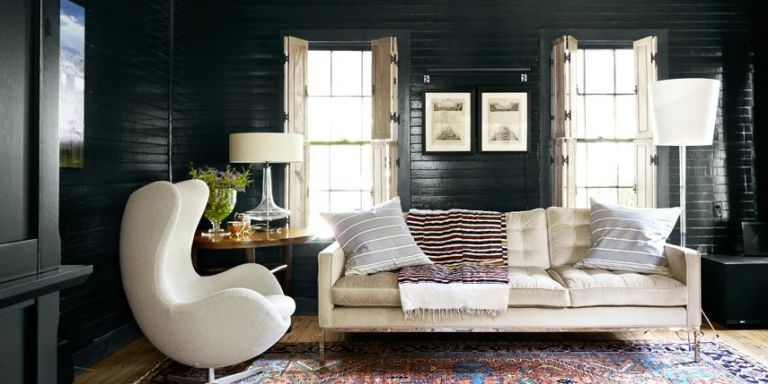 Black Shiplap Living Room Part 95