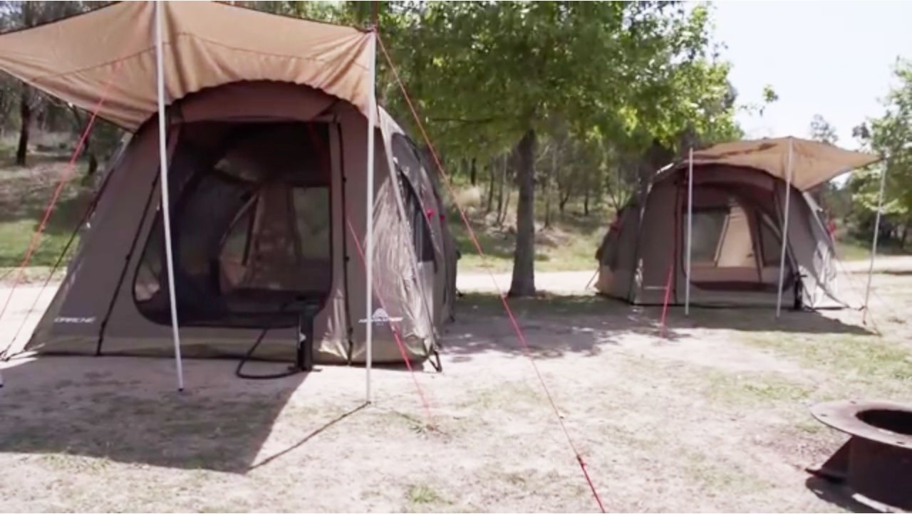 YouTube & Air Volution Inflatable Tent Sets Up In Less Than a Minute - Fast ...