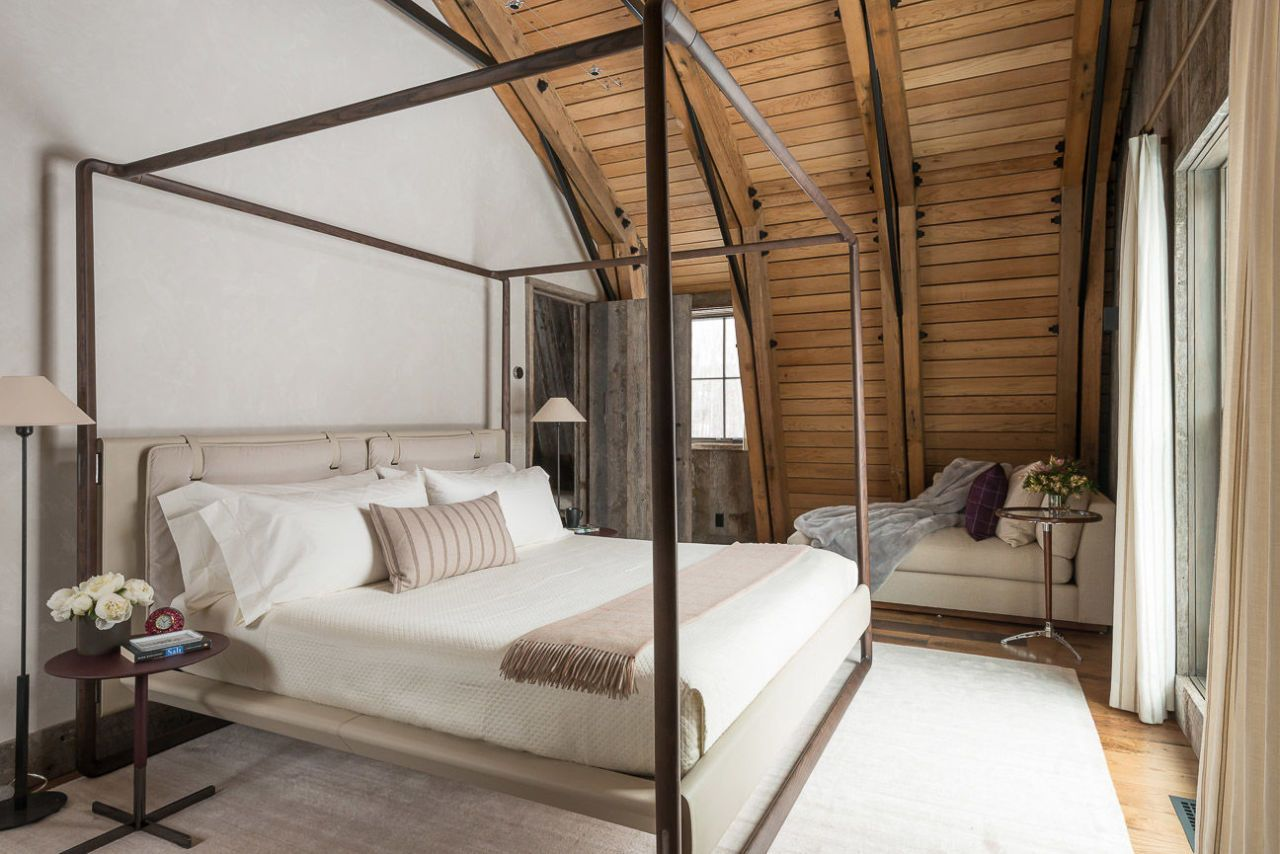 Barn Inspired Guest House Bedroom