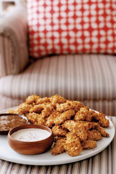 healthy baked chicken fingers recipe