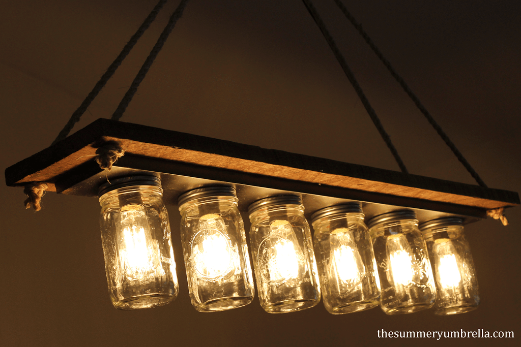 Every Dining Room Needs One Of These Diy Rustic Mason Jar