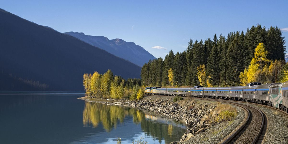 You Can Now See the Most Beautiful Sights in Canada With This $397 Train Trip