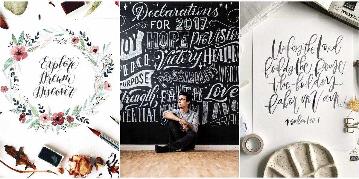 Calligraphy On Instagram Best Calligraphers