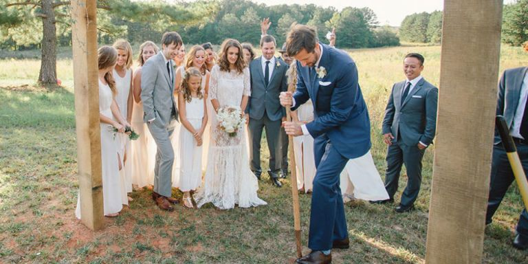 8 Quirky Wedding Traditions You'll Only Find in the South