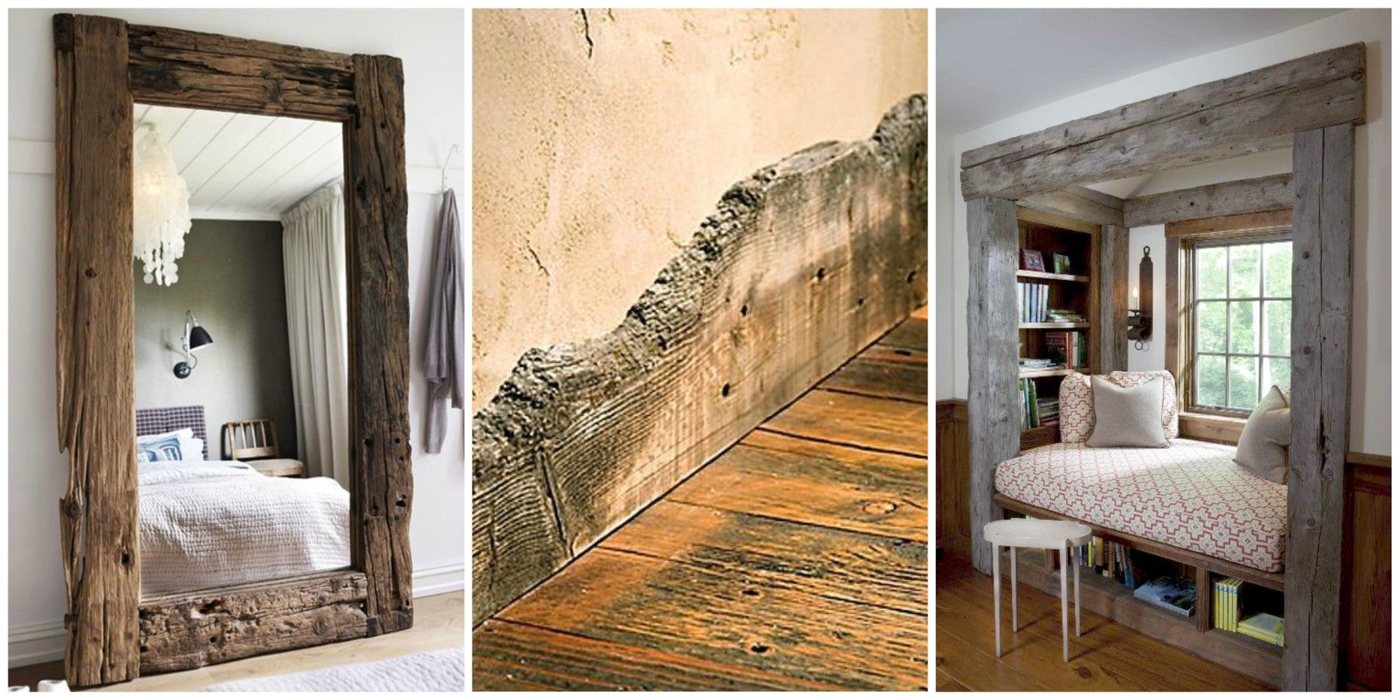 Reclaimed Wood Trim and Molding - Reclaimed Wood Design and Decorating Ideas