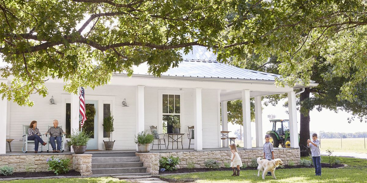 100 Year Old Texas Farmhouse Texas Farmhouse Decorating