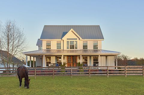 Brown, Property, House, Home, Real estate, Landscape, Roof, Pasture, Building, Horse,