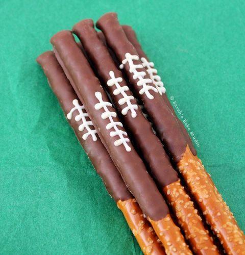 "Chocolate Pretzel Logs Dunmore Candy Kitchen: 11 ""Super Bowl Sundae"" Ice Cream Bar Ideas"