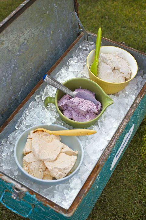 Super Bowl Sundae ice cream bar