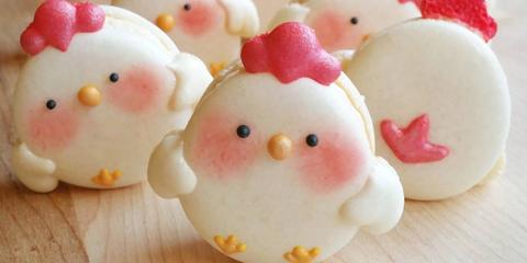 chicken macaron