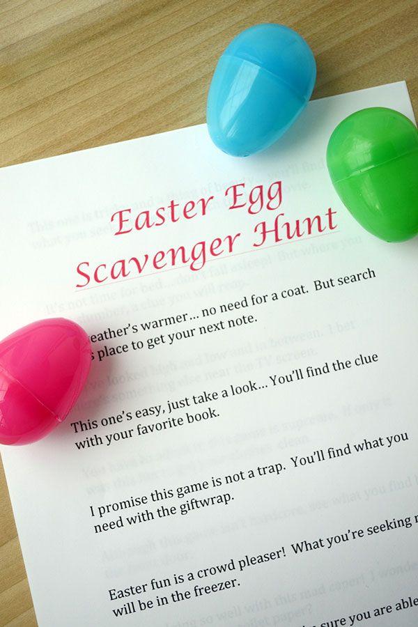 14 Fun Easter Egg Hunt Ideas For Kids Unique Easter Egg Hunt Ideas