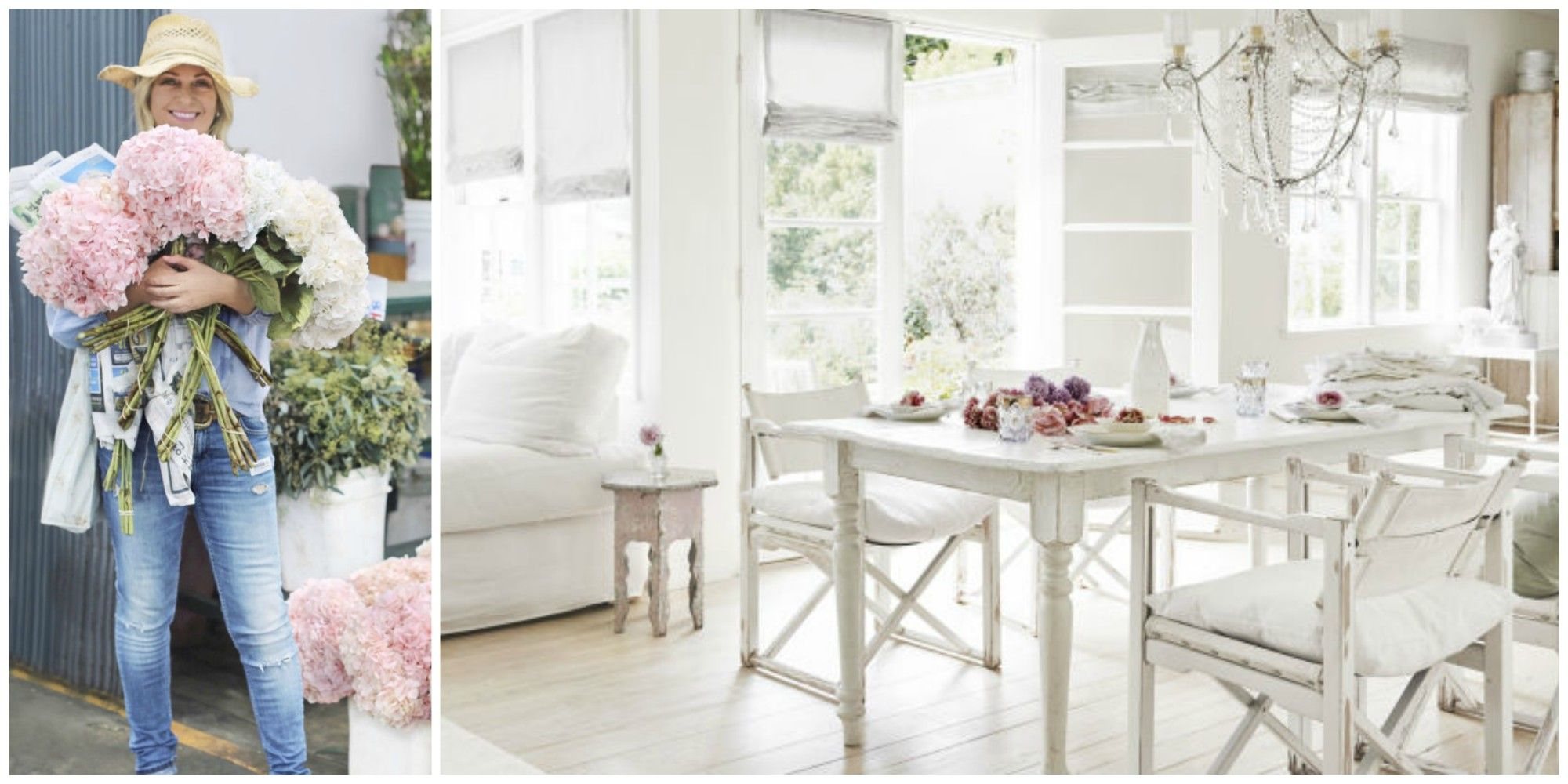 9 Ways To Infuse Designer Rachel Ashwell S Shabby Chic Style Into Your Life Her Favorite Fabrics Paintore