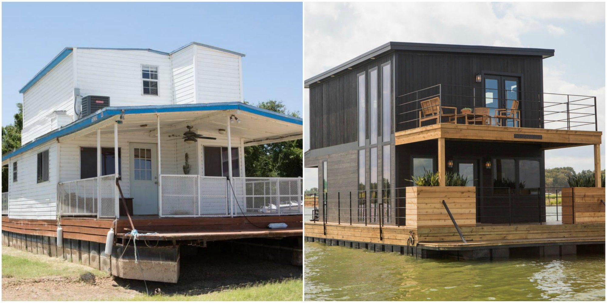 Joanna and Chip Gaines Gave This Houseboat an Unbelievable ...