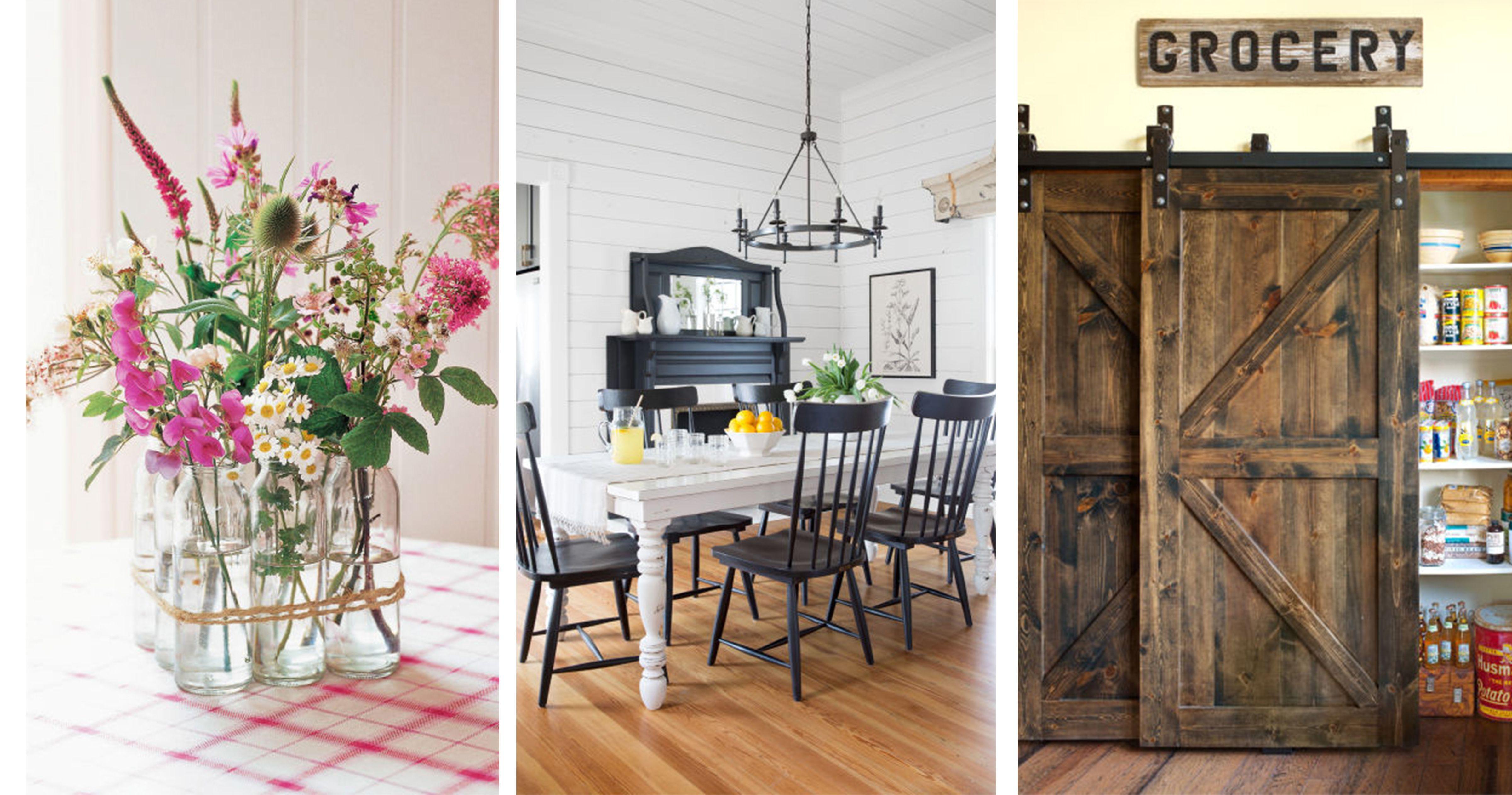 25 Ways to Add Farmhouse Style to