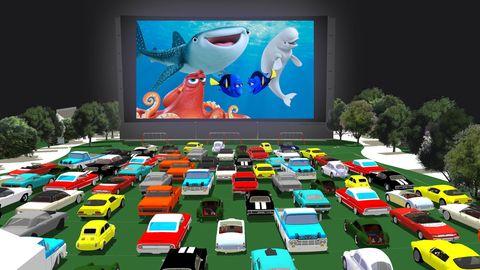Motor vehicle, Mode of transport, Automotive exterior, Shark, Fish, Animation, Technology, Automotive parking light, Display device, Cartilaginous fish,