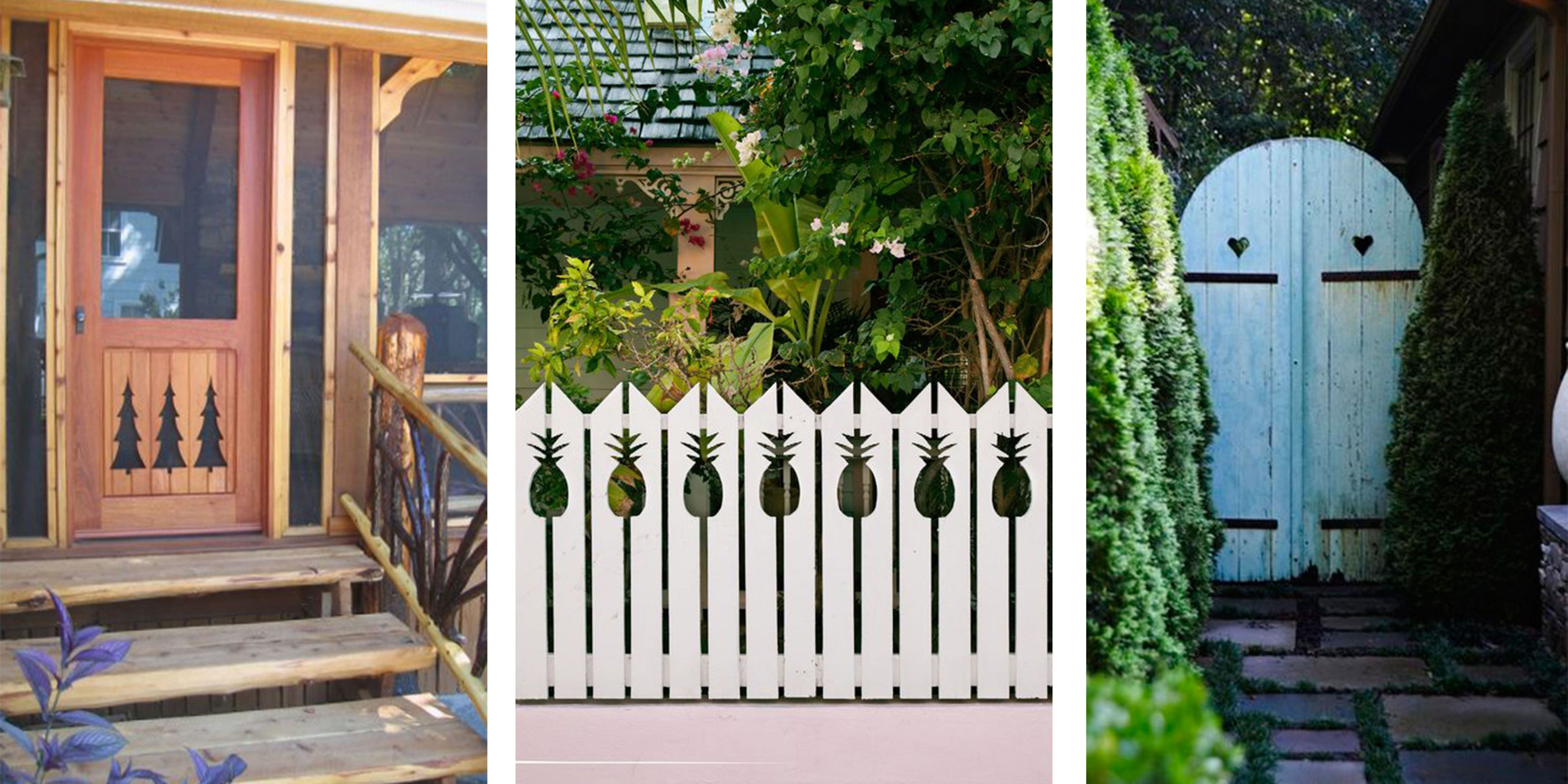 cutouts in fences gates doors & 34 Adorably Quirky Cutout Ideas for Fences Railings and Stairs ...