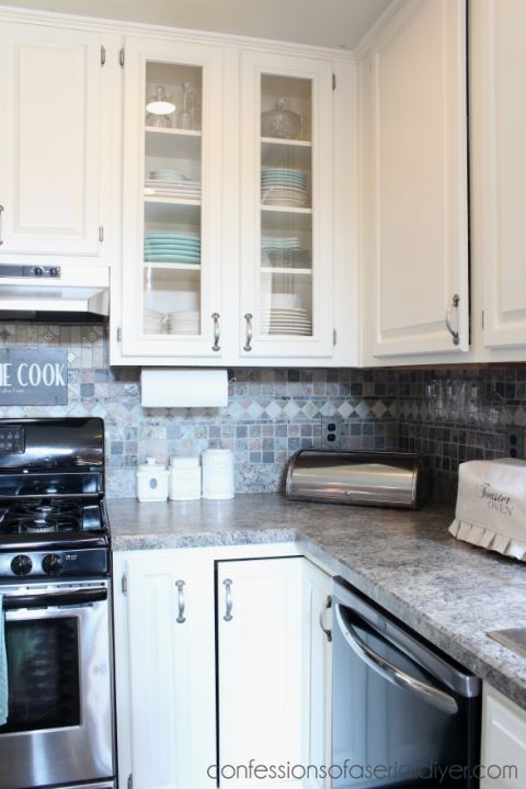Diy Kitchen Cabinet Makeovers Before And After
