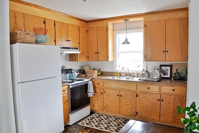 15 Diy Kitchen Cabinet Makeovers Before After Photos Of