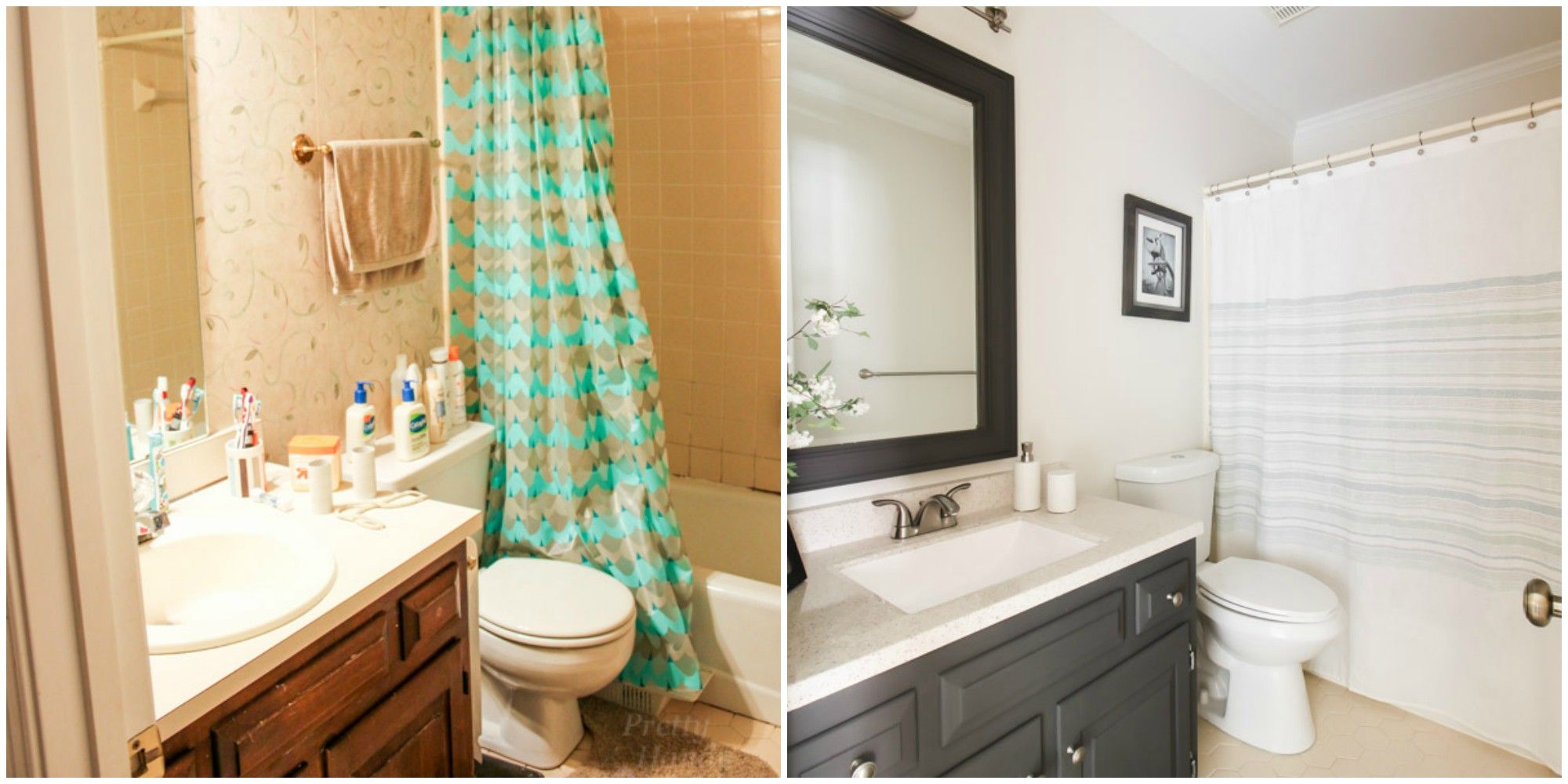 This Makeover Proves You Dont Always Have To Gut Your Entire Bathroom - How to gut a bathroom