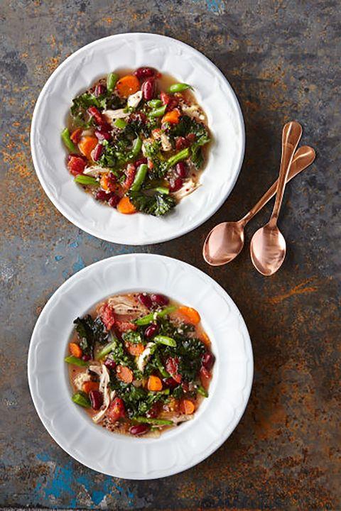 Dish, Food, Cuisine, Ingredient, Salad, Vegetable, Superfood, Produce, Vegetarian food, Panzanella,