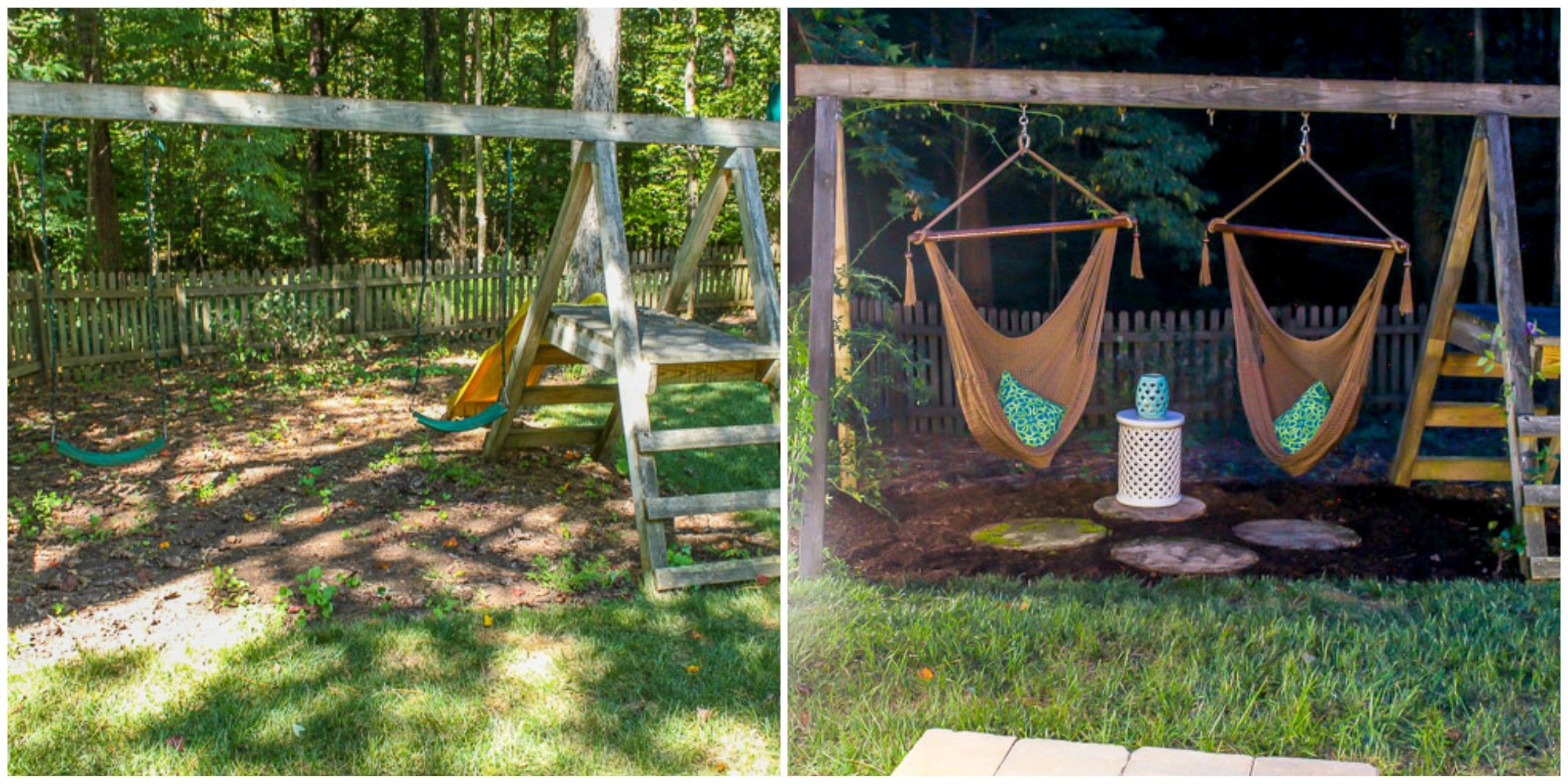 How To Make A Diy Grown Up Swing Set Transform Kid S