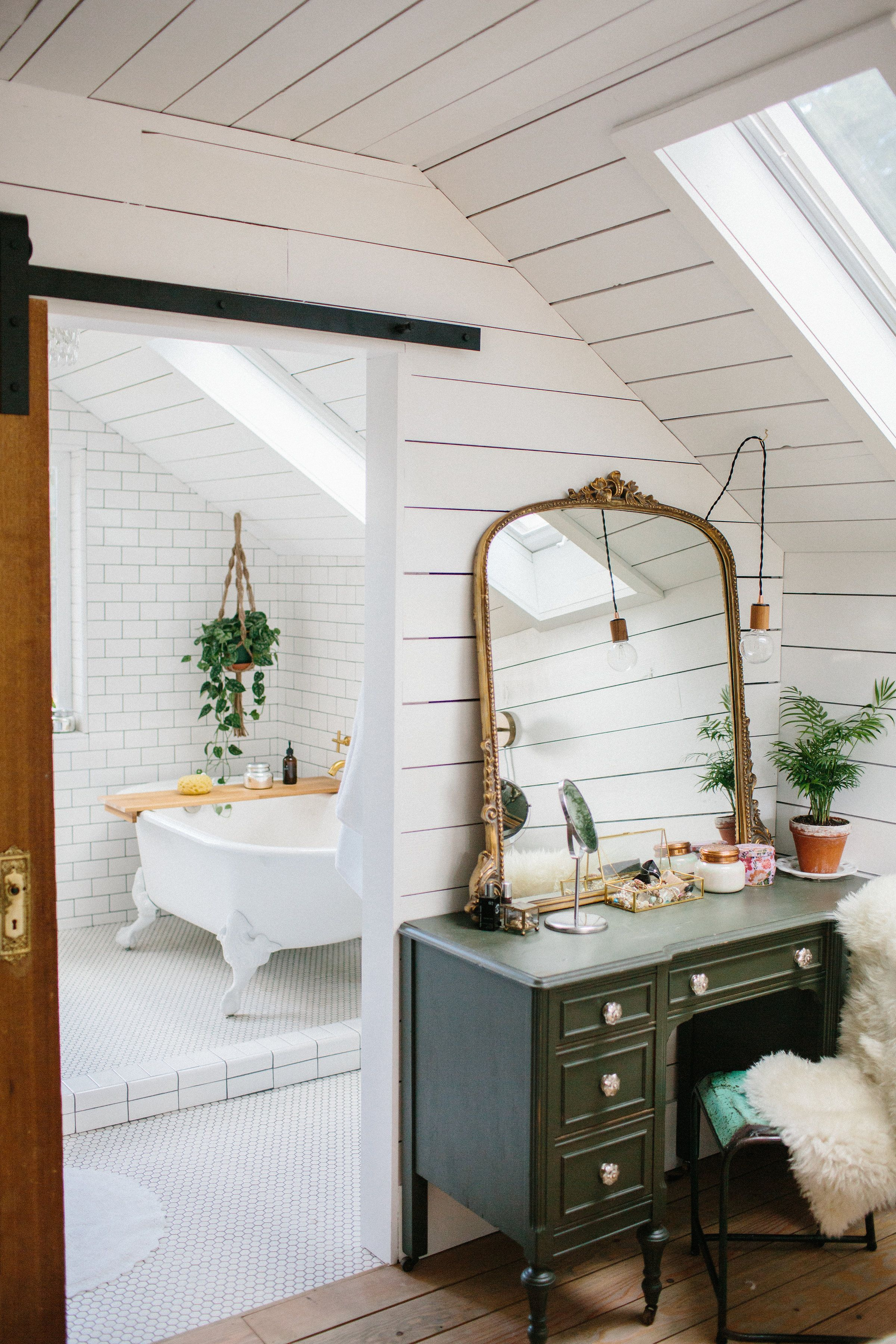 image & This Couple Turned Their Attic Into a Master Suite They Never Want ...