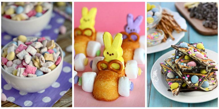 Satisfy Your Easter Munchies With These Colorful Treats Also Check Out Our Favorite Crafts For Kids And Ideas Throwing The Best Egg Hunt