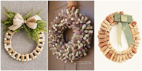 How To Make Wine Cork Wreaths Wine Cork Wreaths Crafts And