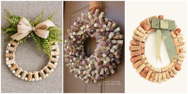 How to make wine cork wreaths wine cork wreaths crafts and diys wine lovers live a good lifethey can celebrate their passion for vino on the reg with red wine brownies and wine bottle crafts now they can even express solutioingenieria Image collections