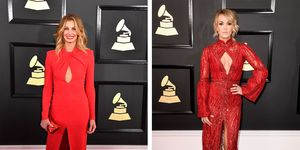 faith hill carrie underwood grammy awards 2017