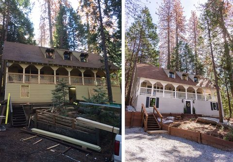 jenna sue cottage house flip exterior before and after