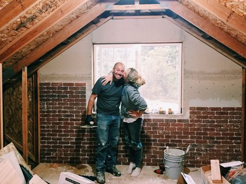 This Couple Turned Their Attic Into A Master Suite They
