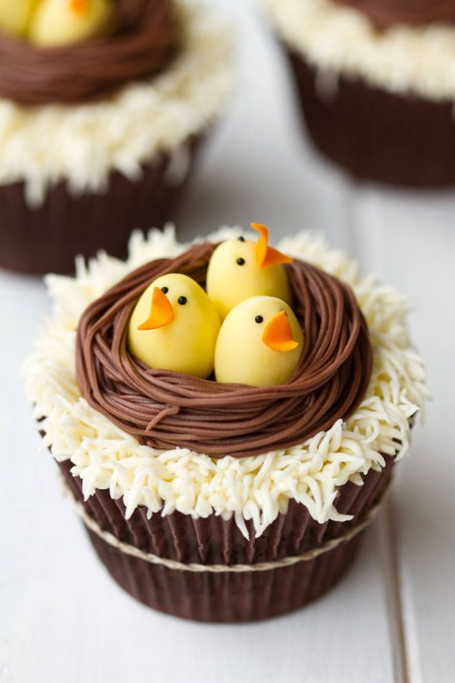 & 16 Cute Easter Cupcake Ideas - Decorating u0026 Recipes for Easter Cupcakes