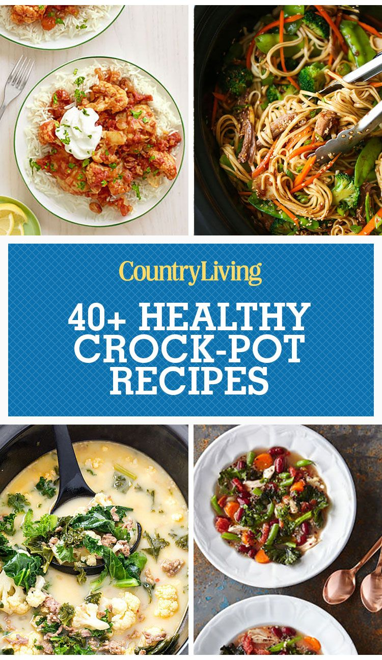 50 healthy crock pot recipes easy light slow cooker dinner ideas forumfinder Image collections