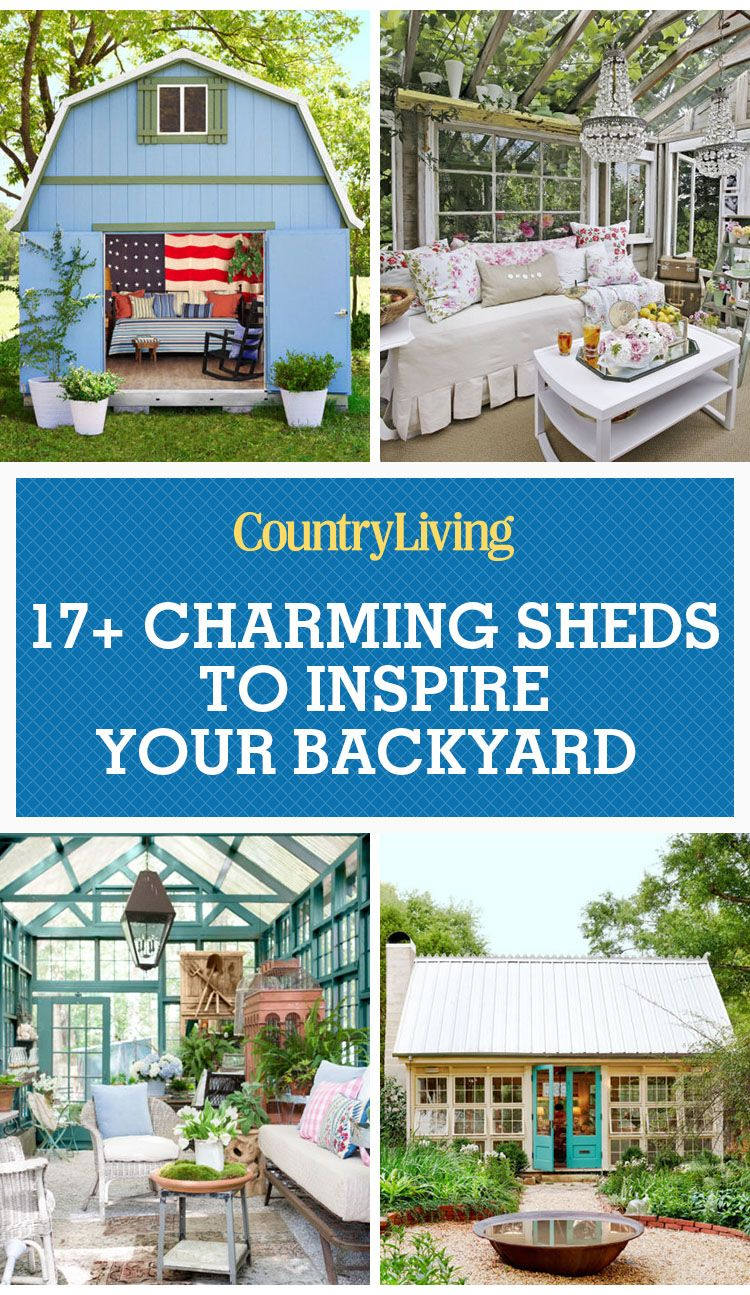 17 Charming She Shed Ideas and Inspiration — Cute She Shed Photos