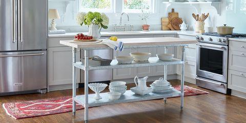 Room, Major appliance, White, Kitchen, Interior design, Floor, Home appliance, Flooring, House, Fixture,